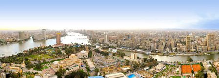 Kairo-Kontrollturmansicht Stockbild