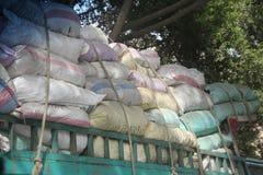 Kairo-Massen-LKW Lizenzfreie Stockfotografie