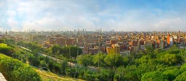 Kairo på gömma i handflatan Fotografering för Bildbyråer