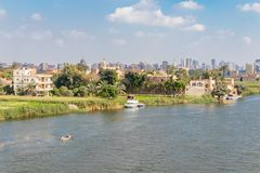 Kairo-Stadt die Stadt des Kontrastes, Ägypten lizenzfreie stockfotografie