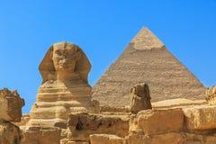 Kairo-Stadt und Fluss Nil stockfoto