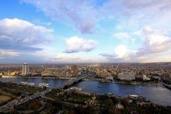 Kairo-Stadtbild Lizenzfreie Stockfotos