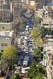 Kairo-Straße Lizenzfreie Stockfotografie