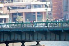 Kairo und der Nil Lizenzfreies Stockfoto
