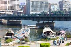 Kairo und der Nil Stockfotografie