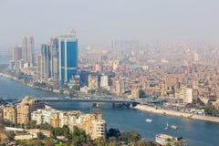 Kairo von der Spitze Lizenzfreie Stockbilder