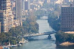 Kairo von der Spitze Stockfoto