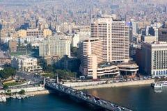 Kairo von der Spitze Lizenzfreie Stockfotografie