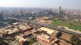 Kairo von höchst- Ägypten - volles VIDEOHD 1080 stock footage