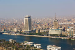 Kairohorisont - Egypten Royaltyfri Foto