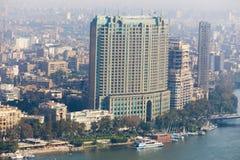 Kairohorisont - Egypten Arkivfoto