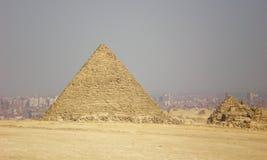 Kairohorizon bij hete middag Stock Afbeeldingen