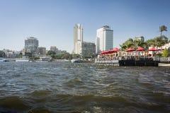 Kairostadshorisont Arkivbild