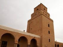 Kairouan -突尼斯的清真寺 免版税库存图片