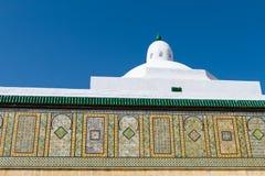 kairouan fryzjer męski meczet s Tunisia Fotografia Royalty Free