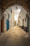 Kairouan Lane Royalty Free Stock Photos