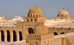 Kairouan moské arkivbild