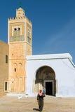 kairouan moské s tunisia för barberare Arkivbilder