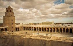 Kairouan Mosk Royaltyfri Fotografi