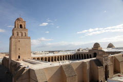 Kairouan mosque Royalty Free Stock Image