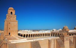 Kairouan mosque Royalty Free Stock Photo