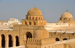 Kairouan mosque Stock Images