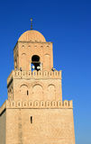 Kairouan mosque. The big mosque in kairouan, the fourth holy city in the world Stock Image