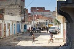 Kairouan street Stock Images