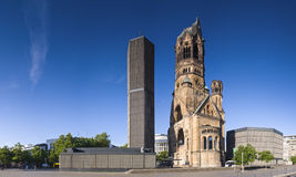 Kaiser威谦廉Gedächtnis Kirche,柏林 免版税图库摄影