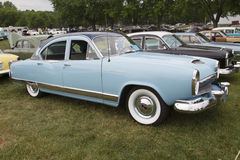 1954 Kaiser Blue Car Royalty Free Stock Photos