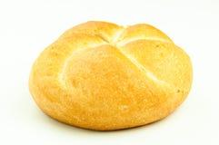 Kaiser bun. Fresh baked isolated kaiser bun Royalty Free Stock Photos