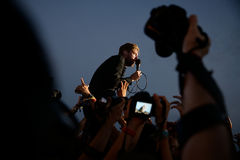 Kaiser Chiefs band in concert at FIB Festival Stock Photo