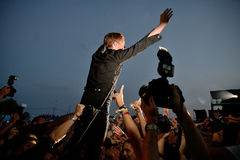 Kaiser Chiefs band in concert at FIB Festival Stock Image