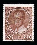 Kaiser Ferdinand I (1835-48), Jubiläum serie, circa 1913 lizenzfreie stockfotografie