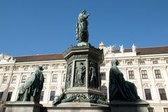 Kaiser Franz Denkmal Monument - Vienna - Austria Royalty Free Stock Photo