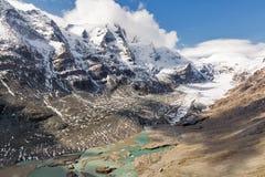 Kaiser Franz Josef glaciär Grossglockner österrikiska fjällängar Royaltyfri Fotografi