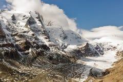 Kaiser Franz Josef glaciär Grossglockner österrikiska fjällängar Royaltyfri Foto