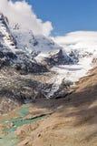 Kaiser Franz Josef glaciär Grossglockner österrikiska fjällängar Royaltyfria Bilder