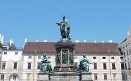 Kaiser Franz zabytek w Wiedeń Zdjęcia Stock