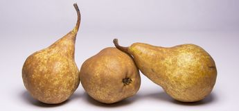 Kaiser golden pear, juicy snack. Kaiser golden pear, juicy sweet delicious snack stock photo
