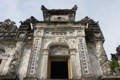 Kaiser Khai Dinh Kirchhof stockbilder