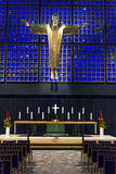 Kaiser kościół w Berlin Obrazy Royalty Free