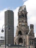 kaiser kościelny pomnik Wilhelm obraz stock