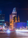 kaiser kościelny pomnik Wilhelm Fotografia Royalty Free