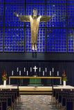 Kaiser kyrka i Berlin Royaltyfria Bilder