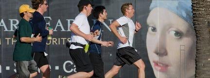 Kaiser meia Maratona Passed De Novo Imagens de Stock Royalty Free