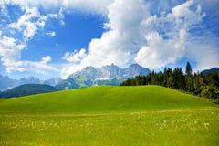 Kaiser mountain, austria Royalty Free Stock Photography