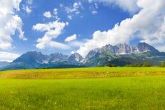 Kaiser mountain Royalty Free Stock Images