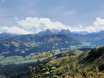 The Kaiser Mountains in Tyrol, Austria Stock Photos