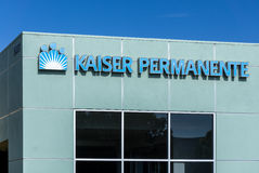 Kaiser Permanente Medical Care Building Royalty Free Stock Images
